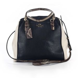 Coach Leather Colorblock Crossbody Satchel Purse